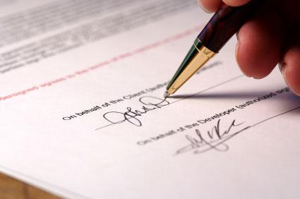 avtal för uthyrning av lägenhet