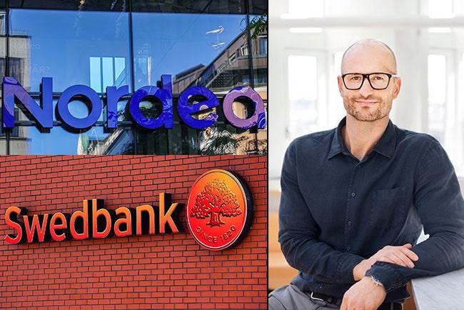 en bild på Riksbankens Olof Sandstedt