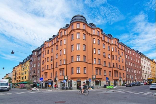 En bild på en bostad i Stockholm