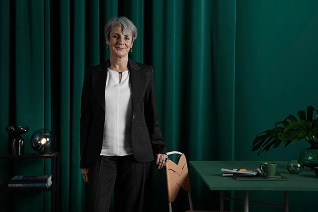Skandiabankens vd Johanna Cerwall