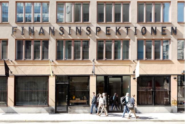 finansinspektionens kontor i Stockholm