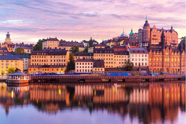 Byggnader på Södermalm i Stockholm