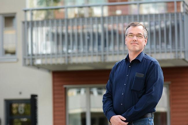 Marcus Kjellin förhandlingsstrateg Hyresgästföreningen i region Mitt
