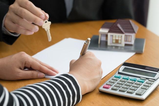 kontraktskrivning bank och låntagare